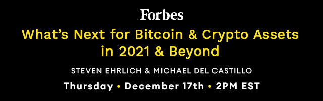What's Next for Bitcoin & Crypto Assets in 2021 & Beyond